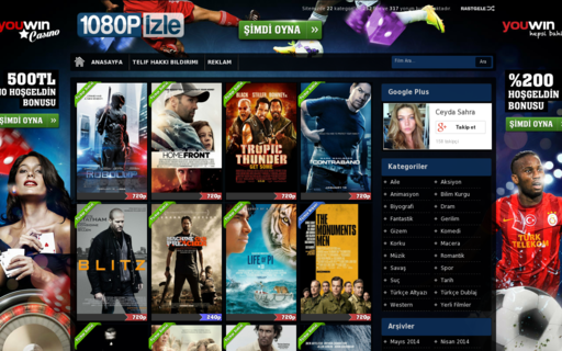 Access 1080p-izle.com using Hola Unblocker web proxy