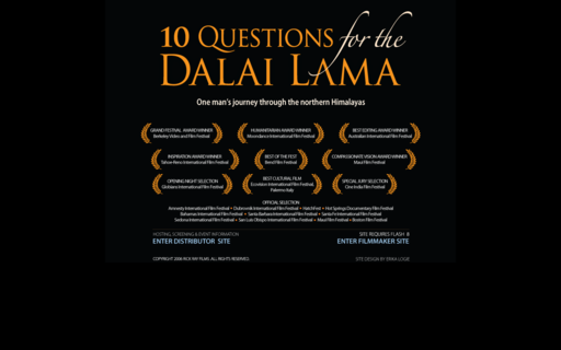 Access 10questionsforthedalailama.com using Hola Unblocker web proxy