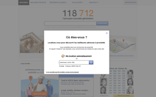 Access 118712.fr using Hola Unblocker web proxy