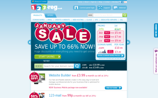 Access 123-reg.co.uk using Hola Unblocker web proxy