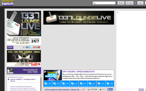 Access 1337loungelive.com using Hola Unblocker web proxy