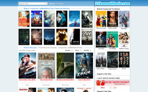 Access 1channelmovie.com using Hola Unblocker web proxy