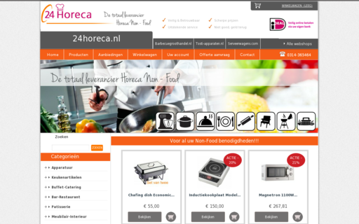Access 24horeca.nl using Hola Unblocker web proxy