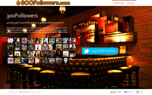Access 300followers.com using Hola Unblocker web proxy