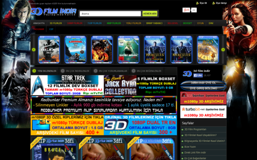Access 3dfilm-indir.com using Hola Unblocker web proxy