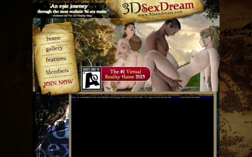 Access 3dsexdream.com using Hola Unblocker web proxy