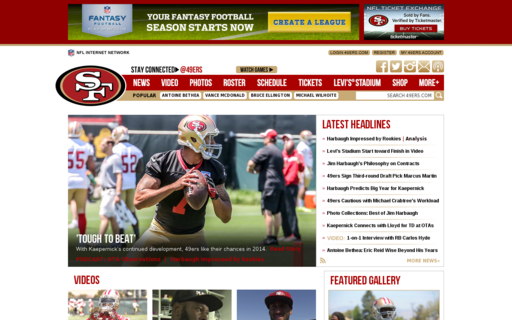 Access 49ers.com using Hola Unblocker web proxy