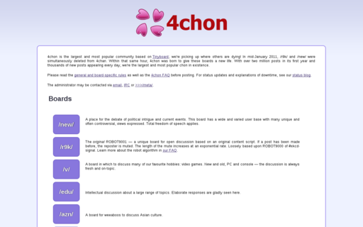 Access 4chon.net using Hola Unblocker web proxy