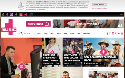 Access 4music.com using Hola Unblocker web proxy