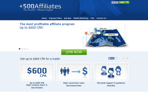 Access 500affiliates.com using Hola Unblocker web proxy