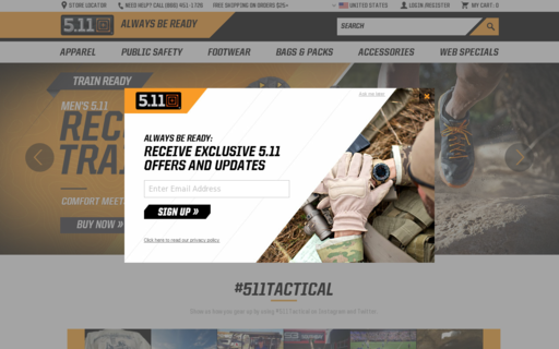 Access 511tactical.com using Hola Unblocker web proxy
