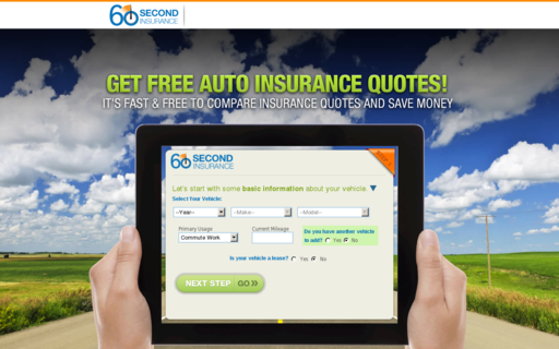 Access 60secondinsurance.com using Hola Unblocker web proxy