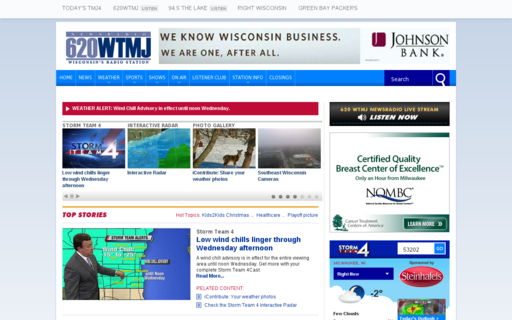 Access 620wtmj.com using Hola Unblocker web proxy