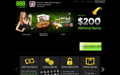 Access 888casino.com using Hola Unblocker web proxy
