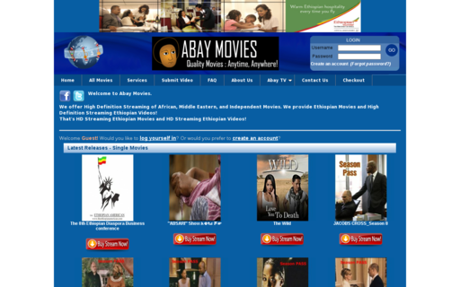 Access abaymovies.com using Hola Unblocker web proxy