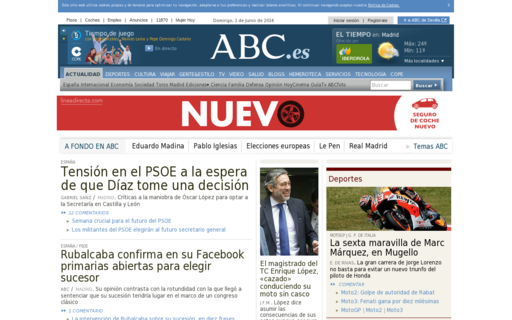 Access abc.es using Hola Unblocker web proxy