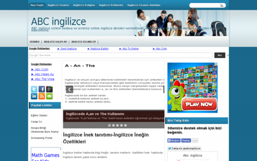 Access abcingilizce.net using Hola Unblocker web proxy