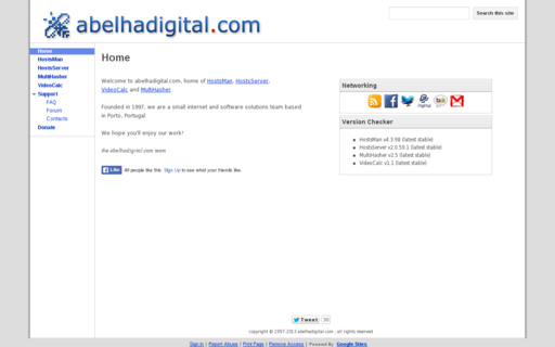 Access abelhadigital.com using Hola Unblocker web proxy