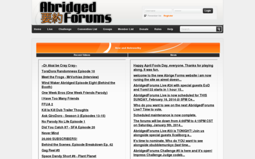 Access abridgedforums.com using Hola Unblocker web proxy