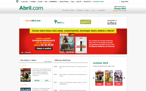 Access abril.com.br using Hola Unblocker web proxy