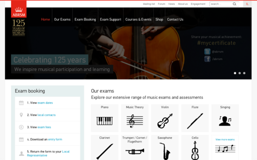 Access abrsm.org using Hola Unblocker web proxy