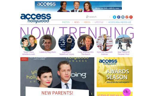 Access accesshollywood.com using Hola Unblocker web proxy