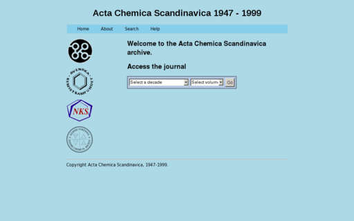 Access actachemscand.org using Hola Unblocker web proxy