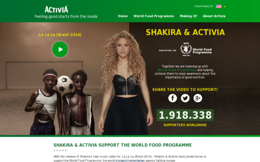 Access activia.com using Hola Unblocker web proxy