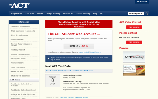 Access actstudent.org using Hola Unblocker web proxy