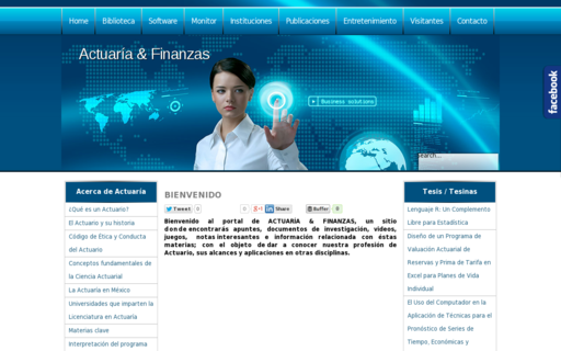 Access actuariayfinanzas.net using Hola Unblocker web proxy