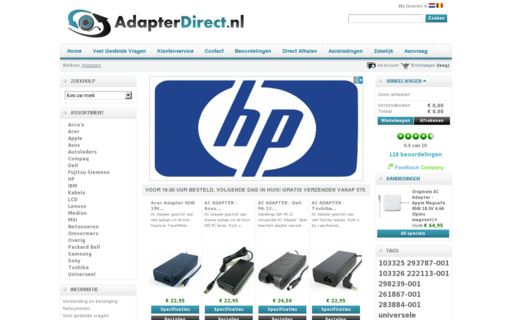 Access adapterdirect.nl using Hola Unblocker web proxy