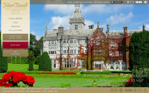 Access adaremanor.com using Hola Unblocker web proxy