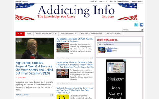 Access addictinginfo.org using Hola Unblocker web proxy