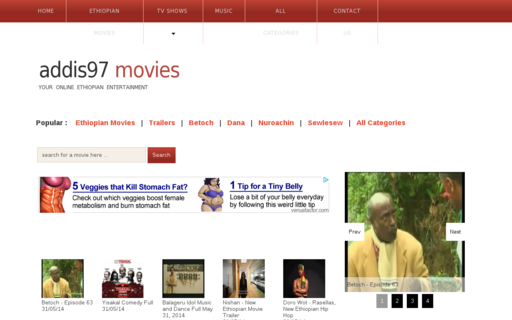 Access addis97movies.com using Hola Unblocker web proxy