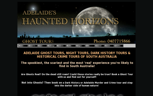 Access adelaidehauntedhorizons.com.au using Hola Unblocker web proxy