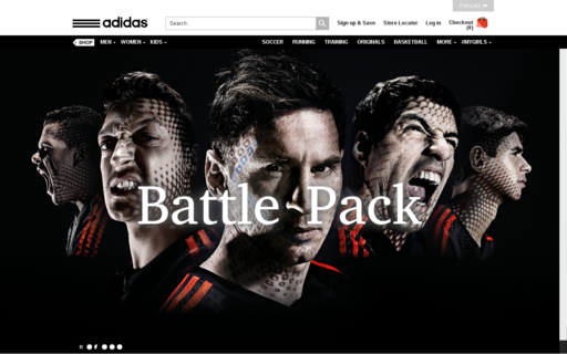 Access adidas.ca using Hola Unblocker web proxy