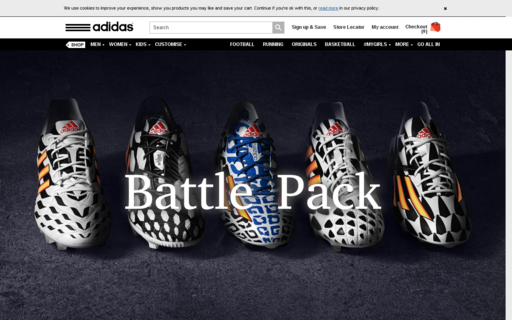 Access adidas.co.uk using Hola Unblocker web proxy