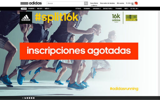 Access adidas.mx using Hola Unblocker web proxy