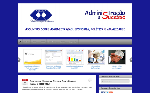 Access administracaoesucesso.com using Hola Unblocker web proxy