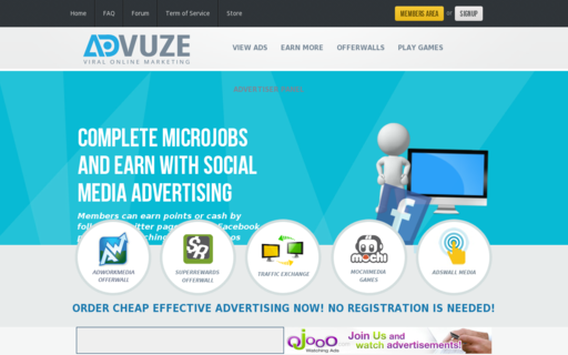 Access advuze.com using Hola Unblocker web proxy