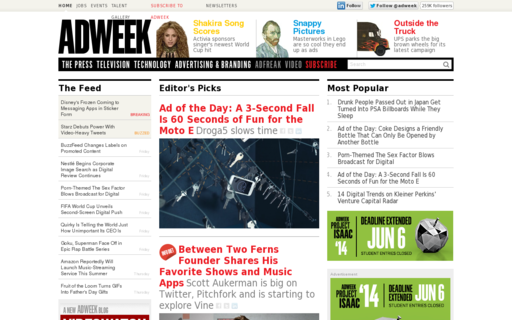 Access adweek.com using Hola Unblocker web proxy