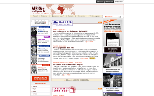 Access africaintelligence.fr using Hola Unblocker web proxy