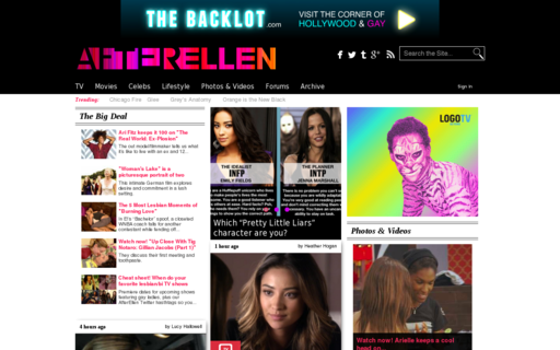 Access afterellen.com using Hola Unblocker web proxy
