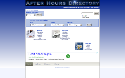 Access afterhoursinfo.com using Hola Unblocker web proxy
