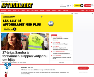 Access aftonbladet.se using Hola Unblocker web proxy