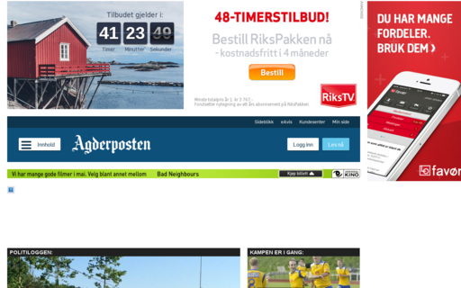 Access agderposten.no using Hola Unblocker web proxy