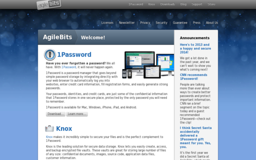 Access agilebits.com using Hola Unblocker web proxy