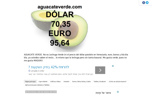 Access aguacateverde.com using Hola Unblocker web proxy