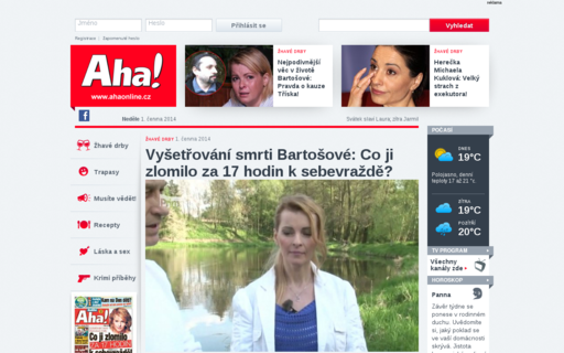 Access ahaonline.cz using Hola Unblocker web proxy
