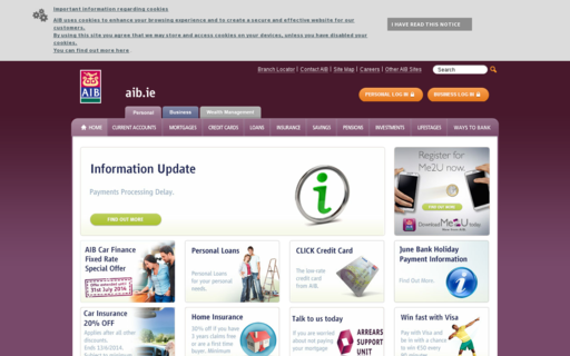 Access aib.ie using Hola Unblocker web proxy